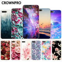 CROWNPRO 5.7 For Huawei Y6 2018 Case Silicone For Huawei Y6 PRIME 2018 Cute Fundas TPU Protective Cover Y 6 2018 Prime Coque