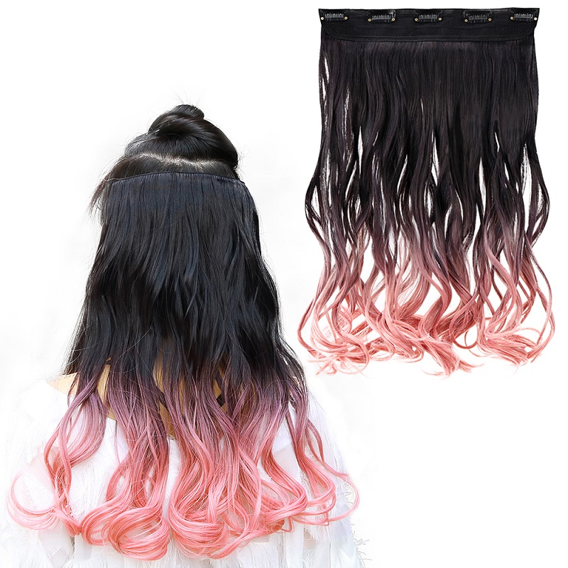 de Cabelo perucas Perucas Para Mulheres Rosa