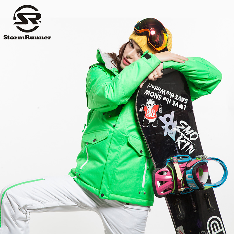 Fine Thick Jacket For Girls Free Shipping Stormrunner Womens Jacket Colorful Jacket Windproof Waterproof Snow Ski Jacket Warm Superior Performance Skiing Jackets
