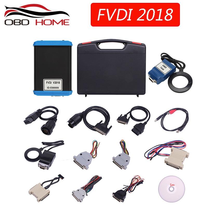 2018 100% первоначально FVDI 2018 полная версия (в том числе 18 программное обеспечение) FVDI ABRITES Commander не ограничивается FVDI V2014/V2015
