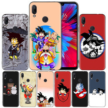 Dragon Ball Goku DragonBal Silicone Case Cover for Xiaomi Mi 9 8 Play A1 A2 Redmi Note 7 6 6A 5 Plus S2 GO Lite Pro Pocophone F1 стоимость