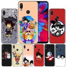 Dragon Ball Goku DragonBal Silicone Case Cover for Xiaomi Mi
