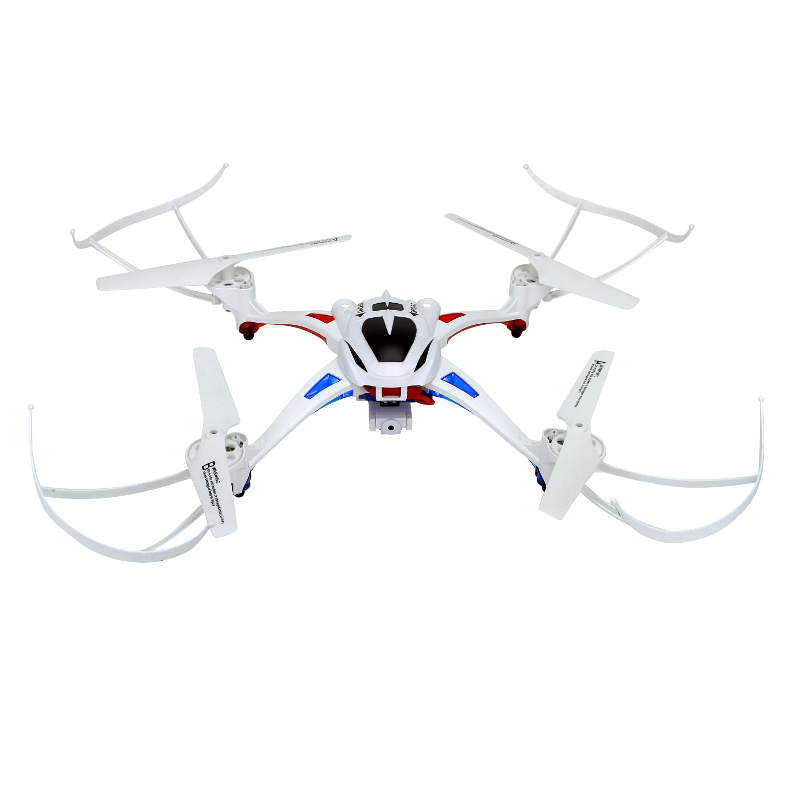 NiHui U807C Headless Mode RC Quadcopter 2.4G 4CH 6Axis Helicopter Drone With 2.0MP HD Camera RTF Remote Control Toy Kids Gift wltoys q222 quadrocopter 2 4g 4ch 6 axis 3d headless mode aircraft drone radio control helicopter rc dron vs x5sw
