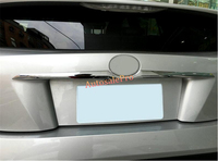 ABS Chrome Rear Door Trunk gate upper handle Trim Cover 2pcs For Toyota Prius 2016