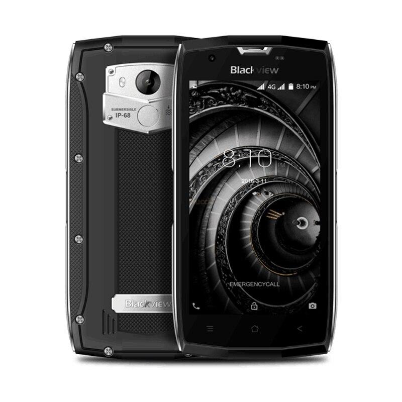2017 téléphone portable étanche robuste Blackview BV7000 Pro IP68 MT6750T Octa Core 5 FHD 4G + 64G GPS 4G lte Smartphone