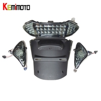 KEMiMOTO For YAMAHA TMAX 500 Tmax500 T max 500 T MAX 500 Motorcycle LED Rear tail light brake light Turn Signal Light 2004 2007