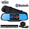 """Nuevo 5.0 """"Táctil Dual Cam Car DVR con 1 GB de RAM 8 GB ROM WiFi FM Kit de Coche Bluetooth Espejo de Coche de Navegación GPS Android Cámaras"""