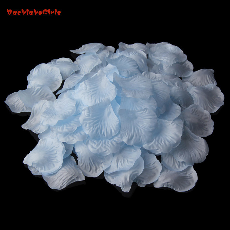 Rose Petals 1000pcs/set Wedding Simulation Wedding Decoration Valentine's Party Welding Party Decoration Flower