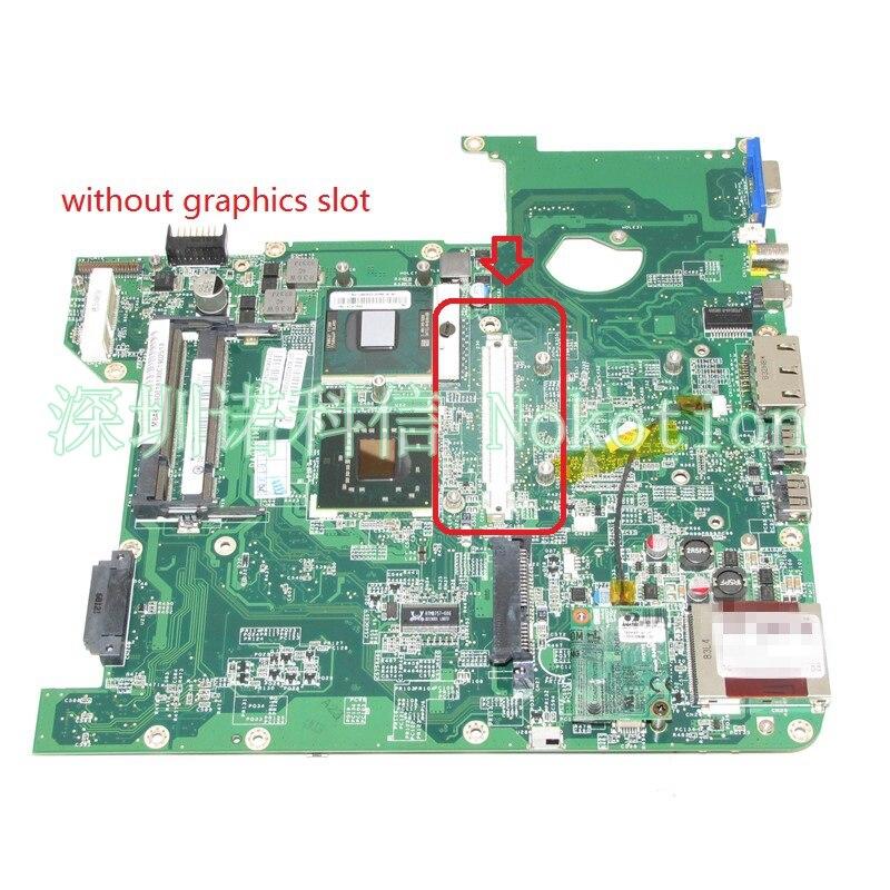 NOKOTION DA0Z01MB6E0 REV E MBAKD06001 MB.AKD06.001 for acer aspire 4720 4720Z laptop motherboard GL960 DDR2 laptop motherboard fit for acer aspire 3820 3820t notebook pc mainboard hm55 48 4hl01 031 48 4hl01 03m