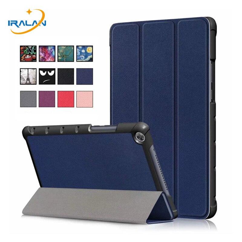 Wyjątkowo cienki futerał dla huawei MediaPad M5 lite 8.0 JDN2-AL00 JDN2-W09 stojak pod pc lub tableta pokrywa dla huawei M5 lite 8 cal przypadku + Film + długopis