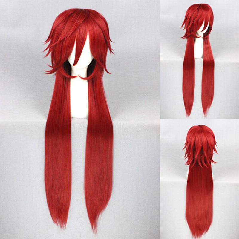 Black Butler Ainme Cheveux Rouge diacres