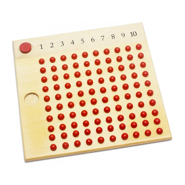 Peg Boards for multiplication and division