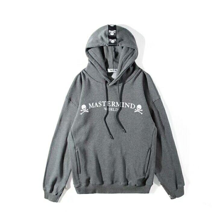 5cfb5ce680d 2019SS NEW Best version Mastermind Japan behind Ribbon stripe Skeleton  Zipper Men Women Pullover Hoodies hip hop MMJ Sweatshirt-in Hoodies    Sweatshirts ...