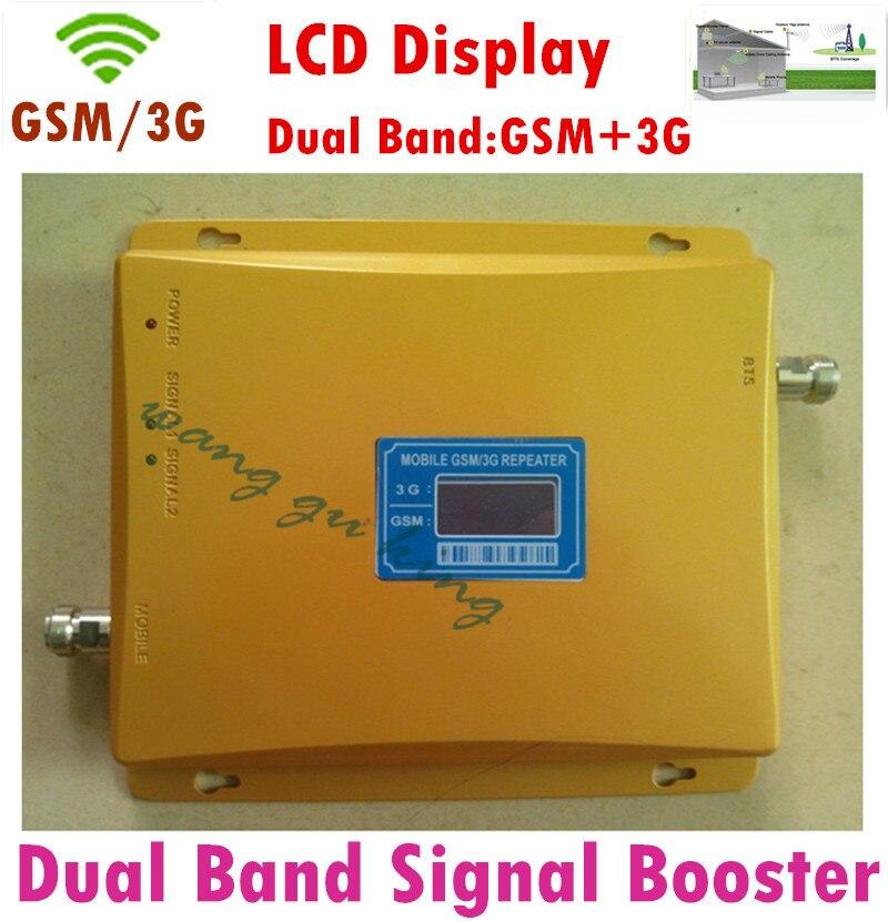 Double bande à gain élevé 2G, amplificateur de signal 3G GSM 900 GSM 2100 répéteur de Signal amplificateur amplificateur de signal répéteur 3G GSM