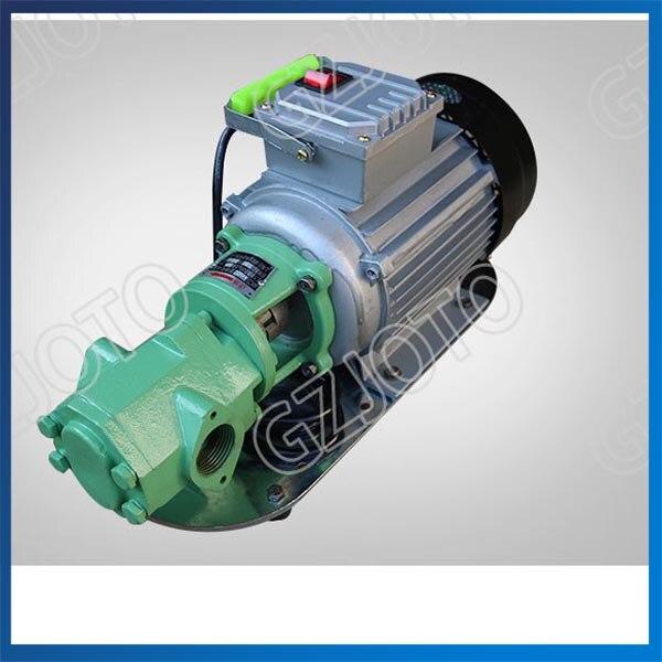 WCB-30 Small Portable Diesel Oil Pump 220V/380V Hydraulic Oil Transfer Pump стоимость