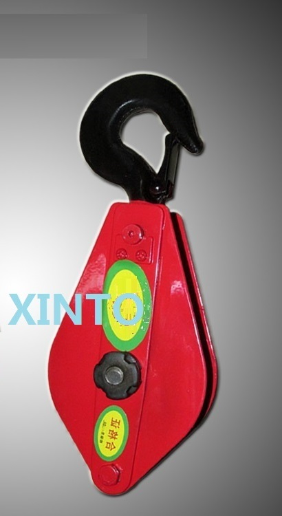3.2Ton with bearing snatch pulley block steel wire rope lifting ...