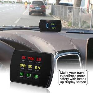 P12 OBD2 Scanner Car HUD Displ