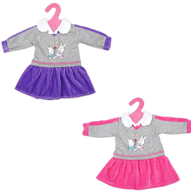 New Fashion Two Colors Styles Doll School Dresses Uniform