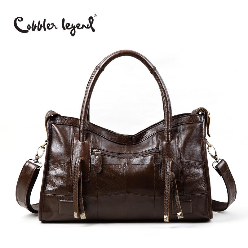 Cobbler Legend Original Genuine Leather Women Shoulder Bags 2017 New Leisure Trend Ladies Crossbody Bag For Women's Handbag