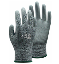 Aramid Fiber Cut Resistant Work Glove PU ESD Working HPPE Anti Gloves