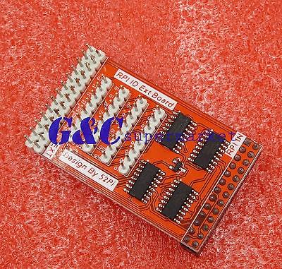 Raspberry Pi 32 GPIO Infinity Cascade Expansion Board 8-bit IO Extend Adapter