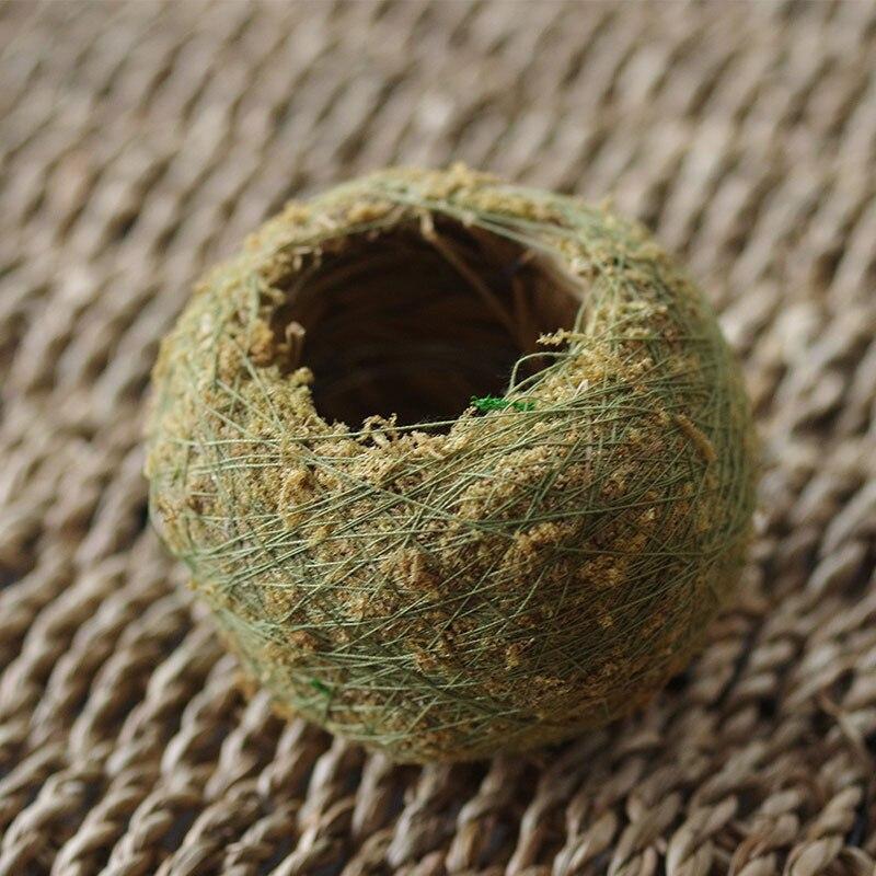Натуральный Мох мяч Карликовые деревья зеленый мох сфагнум подложки Moss Карликовые деревья Декоративные цветы и венки для садового домика балкон p0.16