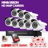 8 Channel 1080N DVR 2500TVL 960P HD Outdoor Security Camera System 8CH HDMI 1080P DVR CCTV
