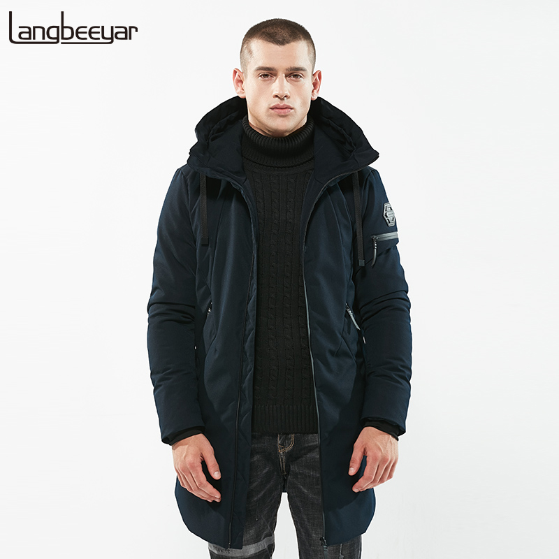 New Fashion Brand Clothing Parka Men High-quality Thick Mens Winter Jackets Long Hooded Keep Warm Mens Winter Jackets And Coats
