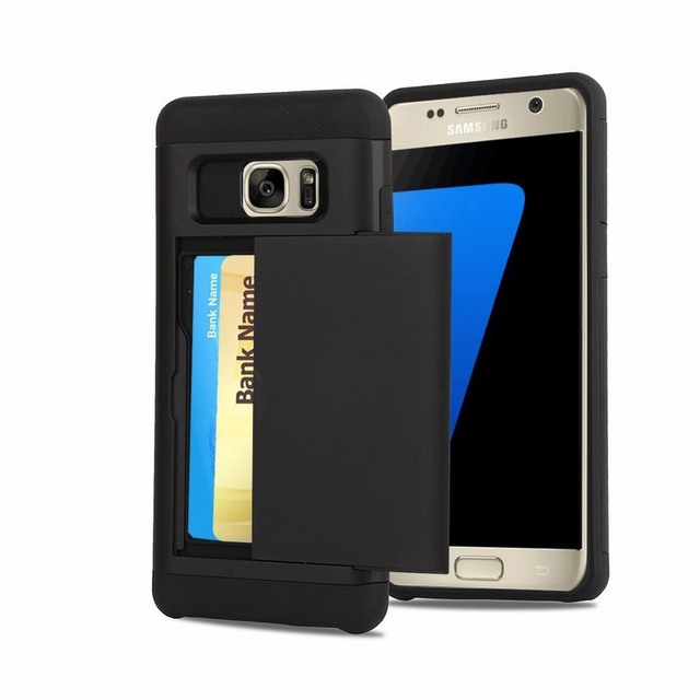 Ascromy Sliding Back Door Card Holder Wallet Case Hybrid TPU PC Cover For Samsung Galaxy note  sc 1 st  AliExpress.com & Ascromy Sliding Back Door Card Holder Wallet Case Hybrid TPU PC ...