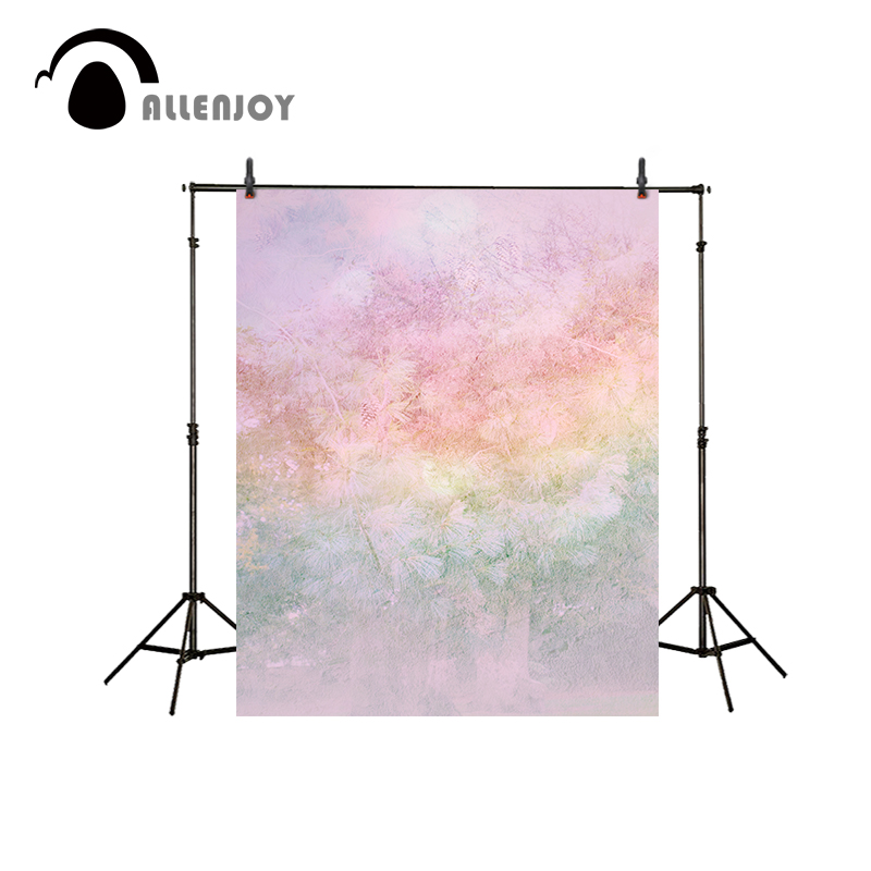 Allenjoy photo background Solid color background kid's background pink gradual change color background photo for a photo shoot