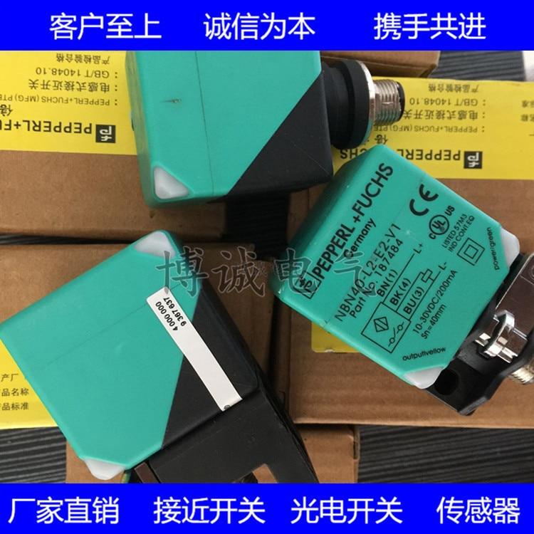 Square high quality proximity switch NBN40-L2M-E0-V1 inductive sensorSquare high quality proximity switch NBN40-L2M-E0-V1 inductive sensor