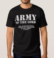 LORD OF ORDU T Shirt erkekler Hıristiyan Dini Tanrı İsa Rab Namaz ÜST T Shirt ABD standart artı boyutu S-3XL