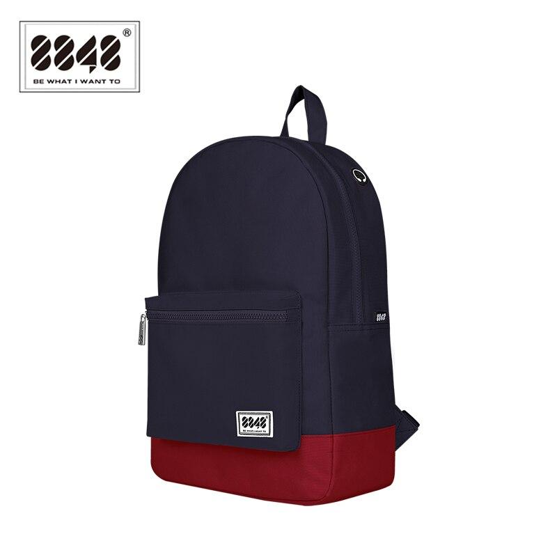 8848 marque école sac à dos sac hommes sacs à dos hommes Style Preppy Polyester sac à dos modèle Type adolescent étudiant 102-054-004