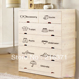 Diy Classification Of Personality Furnishings Drawer Wardrobe Wall