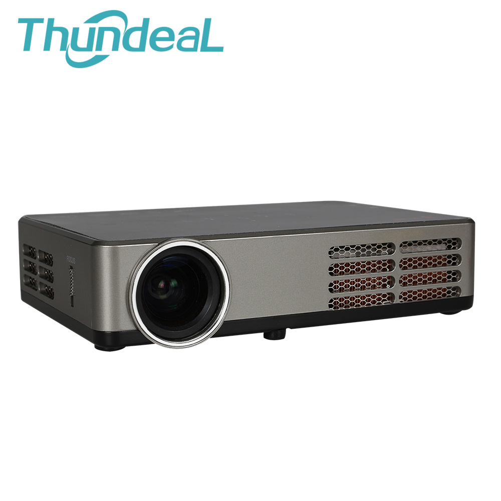 Dlp600w mini dlp 3d projector 4500lumen built in android for Dlp portable projector