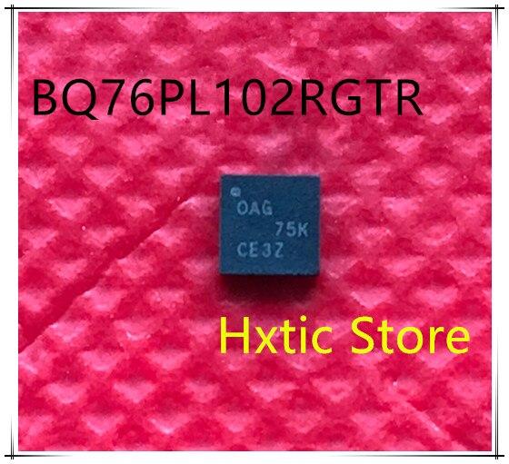 10pcs BQ76PL102RGTR BQ76PL102 MARKING OAG QFN IC