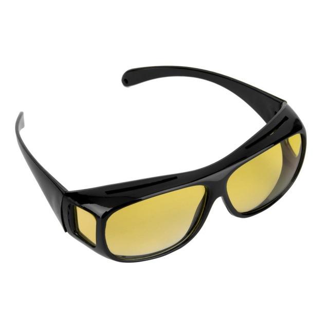 c49390f97e 2018 HD Night Vision Goggles Multifunction Night Driving Glasses Men UV  Protection eyewear Male Retro Sunglasses