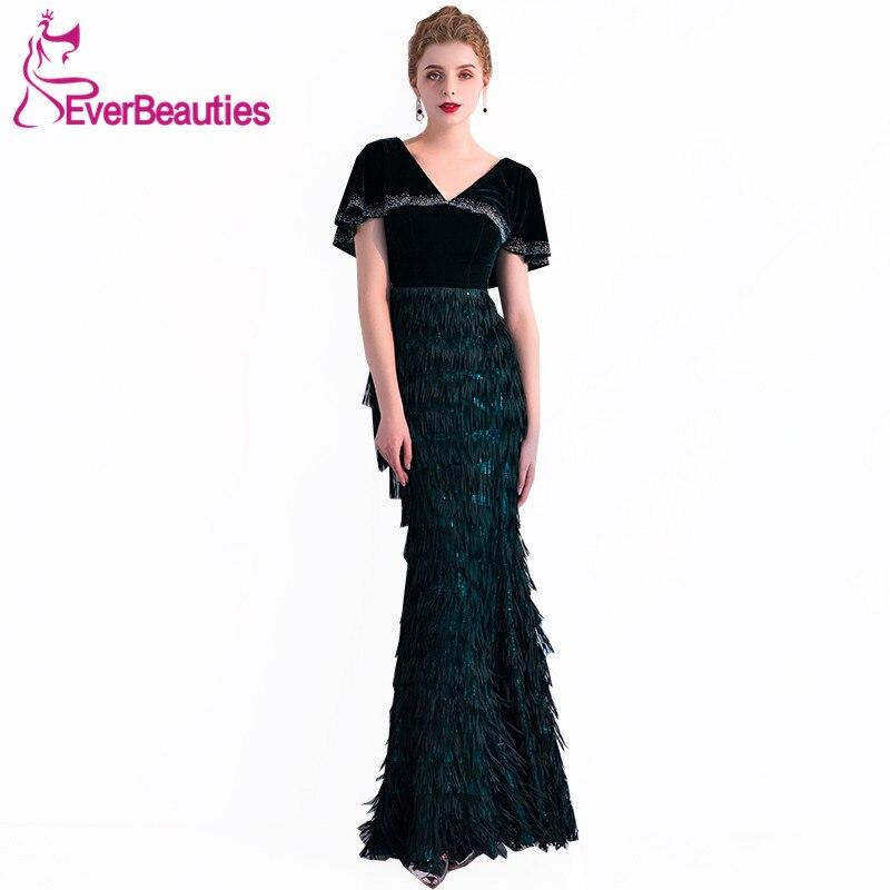 Vestido De Festa Longo Elegant   Evening     Dresses   Prom Party Gowns Long Mermaid   Evening   Gowns Robe De Soiree Abendkleider