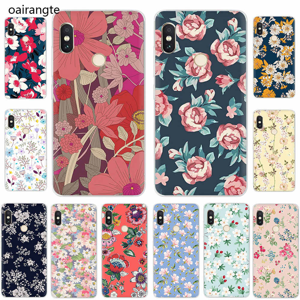 beautiful flowers Hard Phone Cover Case for Xiaomi Mi Mix 2S Max 3 F1 5S 6 8 9 SE A2 Lite 6 A1 9T CC9e A3 pro