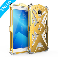 Original Simon Case Armor Shockproof Metal Aluminum THOR IRONMAN Protective Phone Cases Covers For Meizu M5