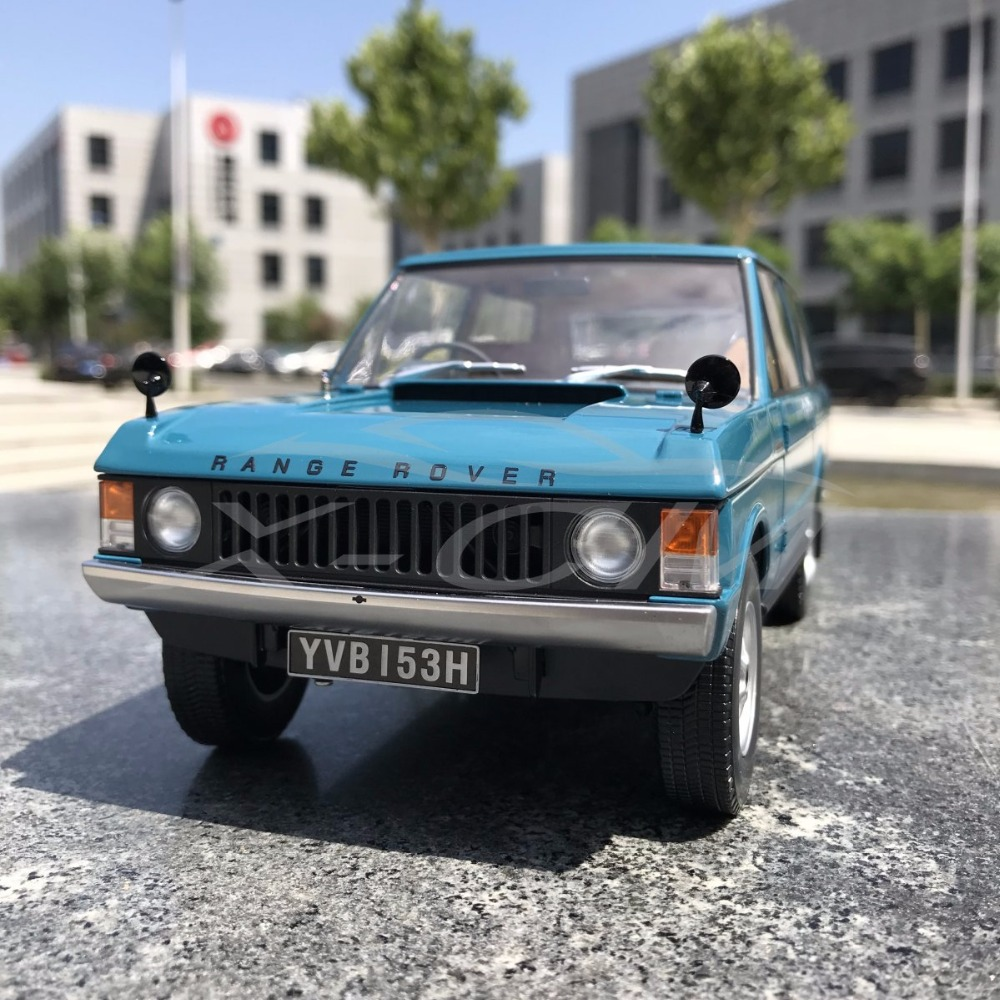 1998 Land Rover Rangerover 2 5 Dse Blue Car For Sale: Diecast Car Model Almost Real 1970 1:18 (Blue) + SMALL