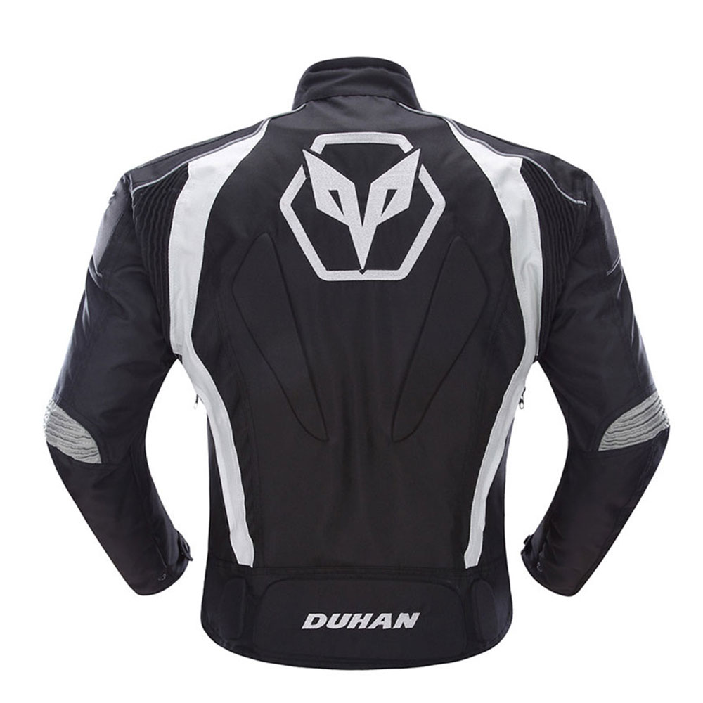 Image 2 - DUHAN Motorcycle Jacket Men Motocross Suits Jacket & Pants Moto Jacket Protective Gear Armor Motorcycle Clothing Riding Jackets-in Jackets from Automobiles & Motorcycles