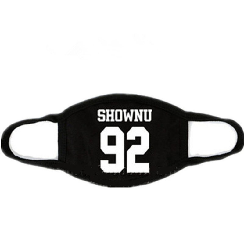 Mainlead Kpop MONSTA X Mask Cotton Mouth HYUNGWO Face Muffle I.M SHOWNU WONHO MINHYUK