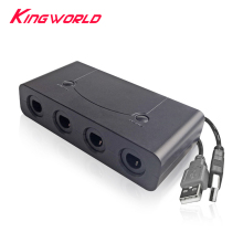 Converter Adapter for S-witch G-C w-iiu or P-C have HOME and TURBO function Controller three in one black