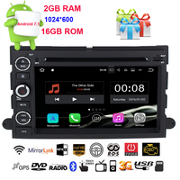 HIFIF HD Quad Core Android 7.1 Car DVD For Ford Fusion Explorer 500 F150 F250 F350 Edge Expedition Mustang Radio GPS Navigation