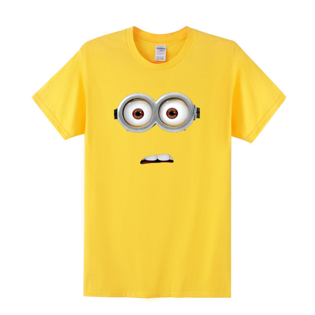 Minion Faces Tshirts