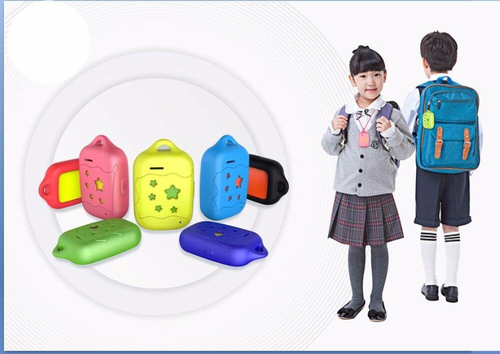 Traqueur GPS Mini et étanche Locater GSM traqueur GPS pour bébé école shopping dispositif de suivi longue veille voix à distance