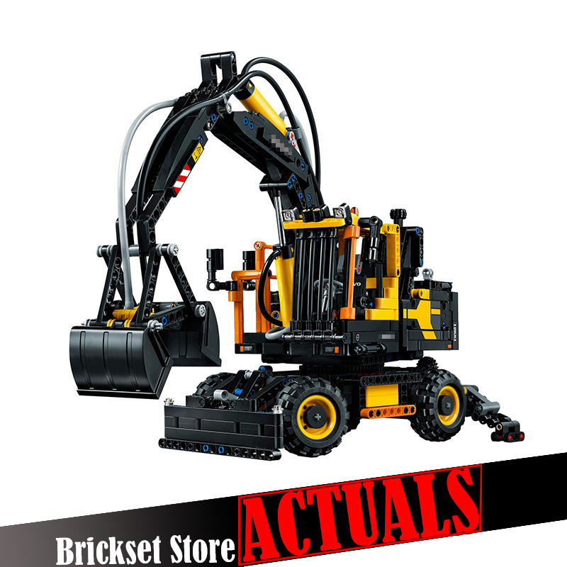 Lepin 20023 1166Pcs Technical Ultimate Series The Ew160e excavator set Educational Building Blocks Bricks Toys Funny Model 42053 new technical excavator duplo toys large