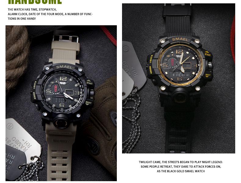HTB1dVIlSXXXXXcUXpXXq6xXFXXX5 - SMAEL MUDMASTER 2017 Fasion Sport watch for Men