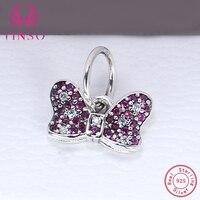 Aliexpress 100 925 Sterling Silver Butterfly Shape Beads Fit Original Pandora Charms Bracelet Authentic Luxury DIY
